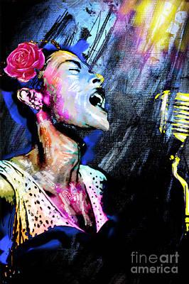 Billie Holiday Art Original
