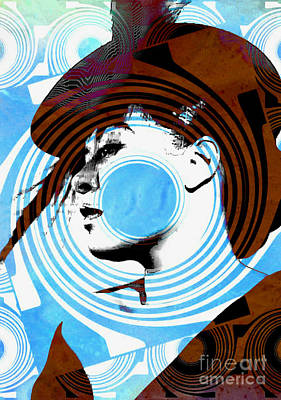 Digital Art - Billie Holiday Blues Singer - Pop Art by Ian Gledhill