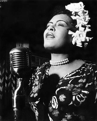 1940s Fashion Photograph - Billie Holiday by Everett