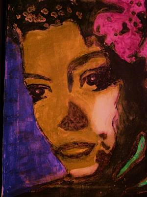 Billie Holiday Painting - Billie Holiday by Gayland Morris