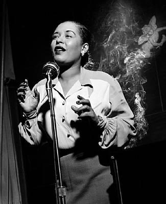 Billie Holiday  New York City Circa 1948 Art Print by David Lee Guss