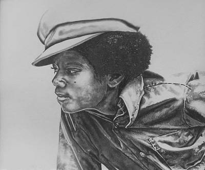 Drawing - Billie Jean - Michael Jackson by Jeleata Nicole