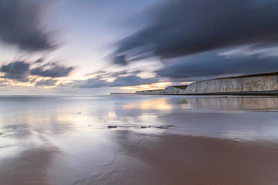 Photograph - Billing Gap Beach Sunset by Will Gudgeon