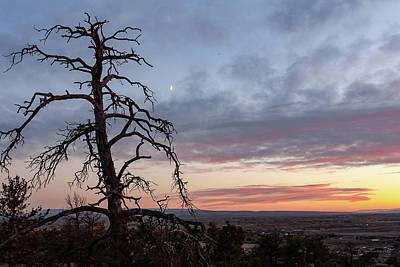 Photograph - Billings Sunrise by Jack Bell