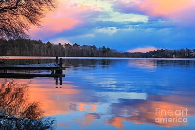 Photograph - Billington Sea Sunset by Amazing Jules