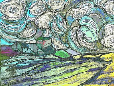 Digital Art - Billow by Victor Shelley