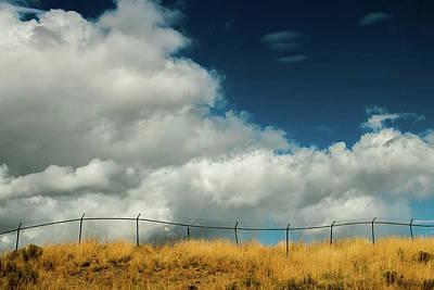 Billowing Clouds Art Print by Kami McKeon