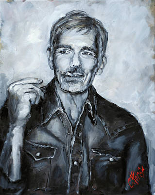 Painting - Billy Bob Thornton by Carole Foret