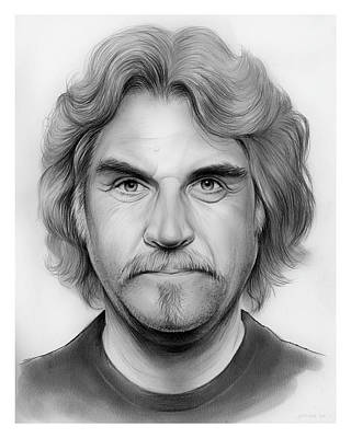 Drawing - Billy Connolly by Greg Joens