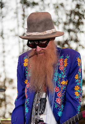 Photograph - Billy Gibbons - Zz Top by John Black