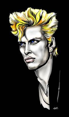 Billy Idol Digital Art - Billy Idol by GOP Art