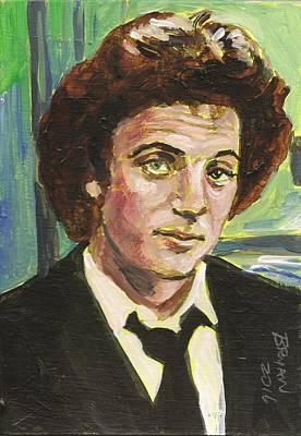 Painting - Billy Joel by Bryan Bustard