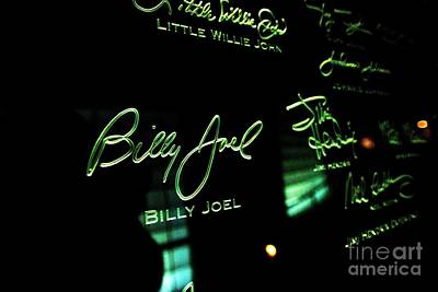 Photograph - Billy Joel by David Bearden