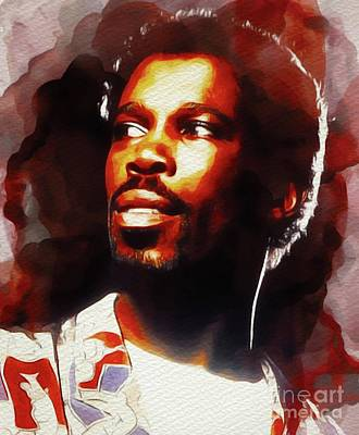 Rock And Roll Royalty-Free and Rights-Managed Images - Billy Ocean, Music Legend by John Springfield