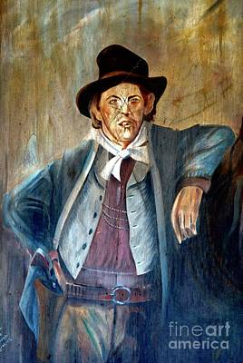 Mixed Media - Billy The Kid by Bob Pardue