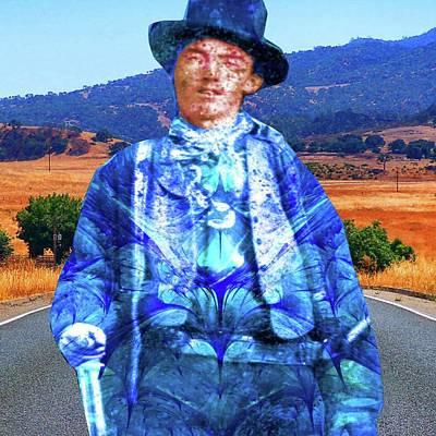 Digital Art - Billy The Kid by Matthew Lacey