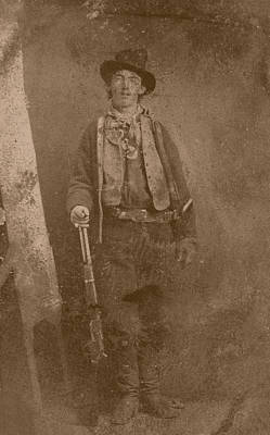 Historian Photograph - Billy The Kid by War Is Hell Store