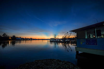 Photograph - Billys Boat Launch Sunrise by Michael Thomas