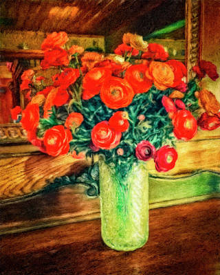 Digital Art - Billy's Flowers by Sandra Selle Rodriguez