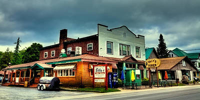 Photograph - Billy's Walt's And The Oil Well - Old Forge Ny by David Patterson