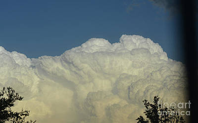 Photograph - Billowing Clouds 2 by Ruth Housley