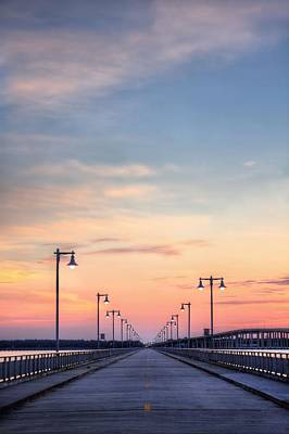 Photograph - Biloxi Back Bay Sunrise by JC Findley