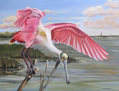 Painting - Biloxi Bayou Beauty by Phyllis Beiser