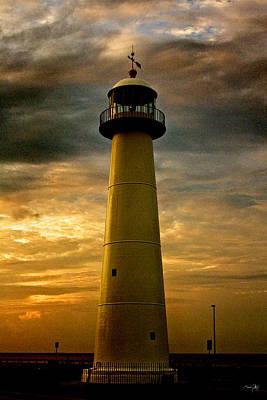 Pellegrin Photograph - Biloxi Lighthouse by Scott Pellegrin