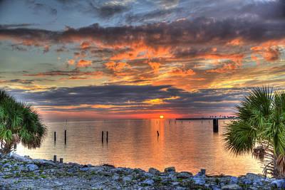 Photograph - Biloxi Sunset by David Foster