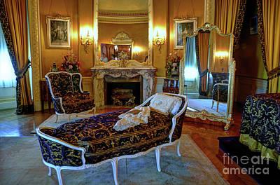 Photograph - Biltmore Bedroom by Savannah Gibbs