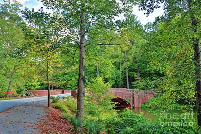 Photograph - Biltmore Bridge by Savannah Gibbs