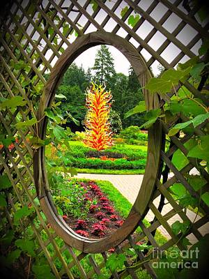 Photograph - Biltmore Chihuly 2 by Buddy Morrison
