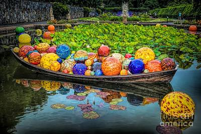 Photograph - Biltmore Chihuly 4 by Buddy Morrison