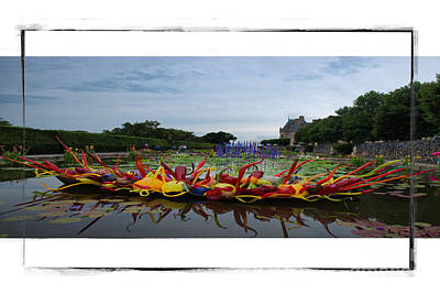 Photograph - Biltmore Chihuly1 by Buddy Morrison