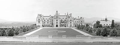 Photograph - Biltmore Estate C. 1895 by Daniel Hagerman