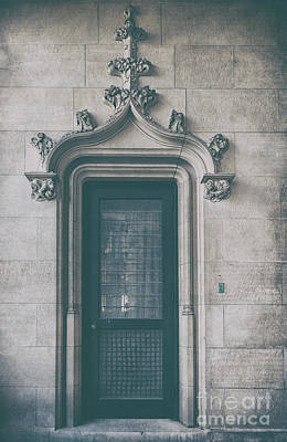 Photograph - Biltmore Estate Door by Dale Powell