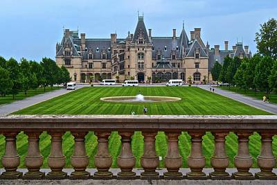 Photograph - Biltmore Estate  by Frozen in Time Fine Art Photography