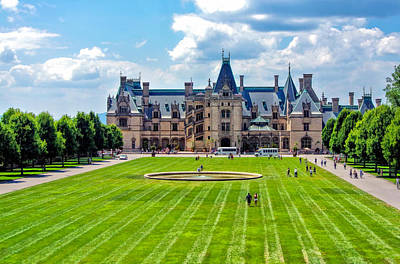Photograph - Biltmore Estate In Asheville North Carolina by Ginger Wakem