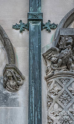 Photograph - Biltmore Estate Intricate Details by Dale Powell