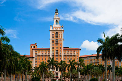 Photograph - Biltmore Hotel by Ed Gleichman