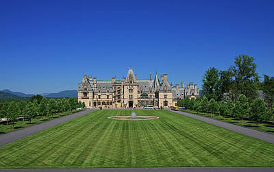 Photograph - Biltmore House In Summer by Jill Lang