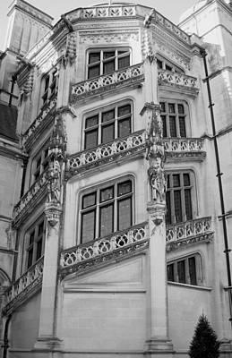 Biltmore House Spiral Stairwell Art Print
