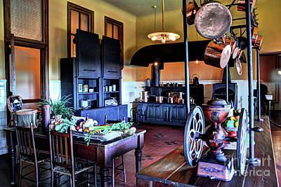 Photograph - Biltmore Kitchen by Savannah Gibbs