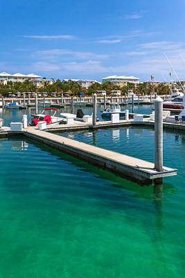 Photograph - Bimini Bay Resort Marina by Ed Gleichman