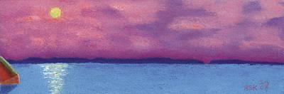 Pastel - Bimini Sunrise by Anne Katzeff