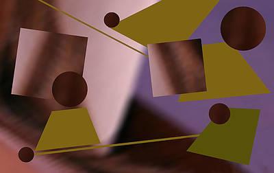 Digital Art - Binary by Roger Bester