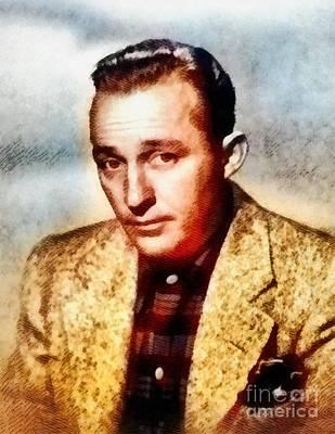 Bing Painting - Bing Crosby, Hollywood Legend By John Springfield by John Springfield