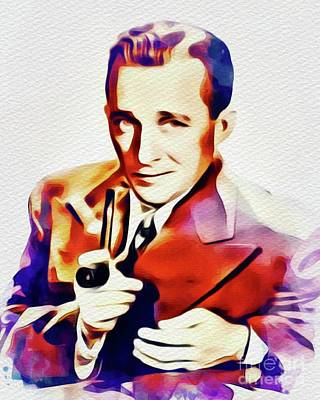 Painting - Bing Crosby, Vintage Star by John Springfield