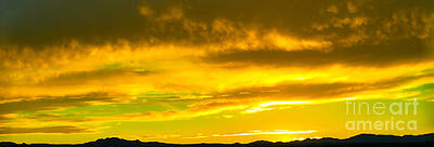 Bingham Lake - Pikes Peak Sunset Art Print
