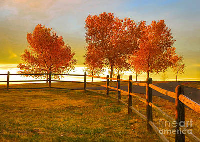 Bingham Lake - Sunset Art Print